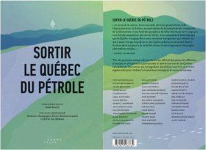 Impression du livre Sortir le Québec du pétrole