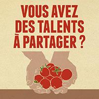 vous avez des talents à partager?